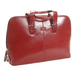 Tony Perotti Classic Zip Around Laptop Bag Red