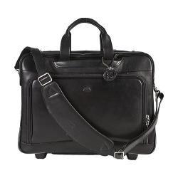 Men's Tony Perotti Torino 17in Wheeled Briefcase Black