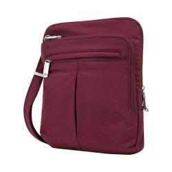 Women's Travelon Anti-Theft Classic Light Slim Bag Berry