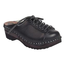 Women's Troentorp Bastad Clogs Lebowski Clog Black Leather