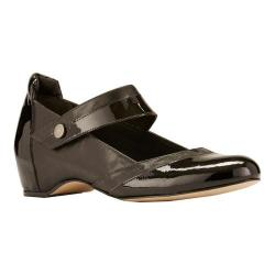 Women's Walking Cradles Kelsey-2 Mary Jane Black Leather