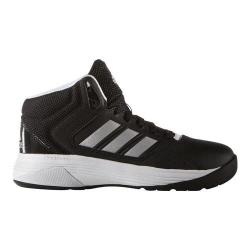 Children's adidas NEO Cloudfoam Ilation Mid Basketball Shoe Core BlackMatte SilverFTWR White | Shopping The Best Deals on Athletic
