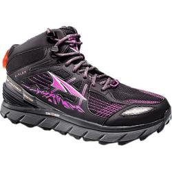 Women's Altra Footwear Lone Peak 3.5 Mid Mesh Trail Shoe Purple/Orange