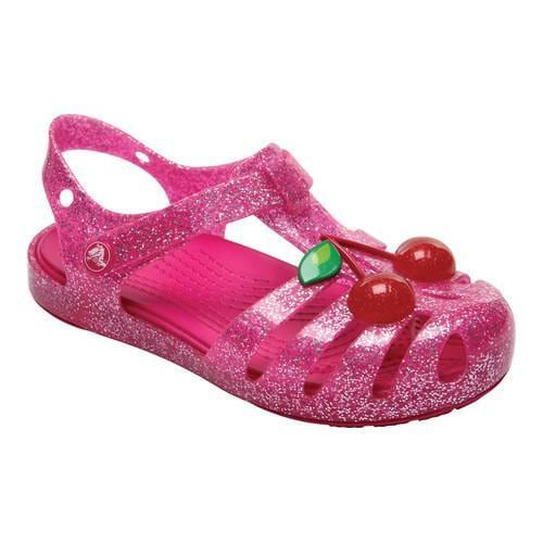 Crocs Isabella Sandal Kids(Girls') -Paradise Pink Cheap Sale Best fMbVyMqvYT