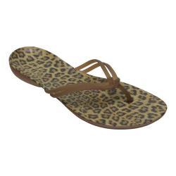 Women's Crocs Isabella Graphic Flip Sandal Leopard