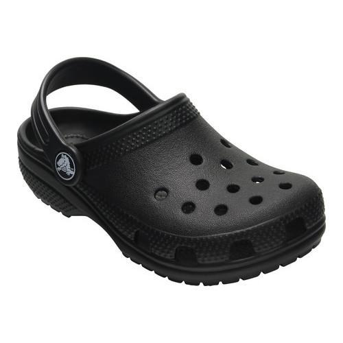 78c4ec70af1a Shop Children s Crocs Kids Classic Clog Black - Free Shipping On Orders  Over  45 - Overstock - 17292989