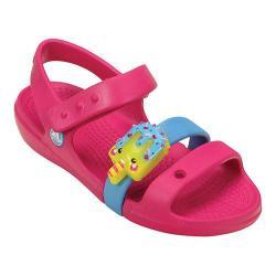 Girls' Crocs Keeley Sweets LED Sandal Kids Candy Pink/Bluebell