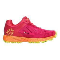 Women's Icebug DTS3 RB9X Sneaker Raspberry/Neon Orange