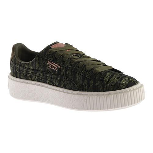 Shop Basket Puma Sneaker Night Vr Nightolive Women's Olive Platform vwN80mn