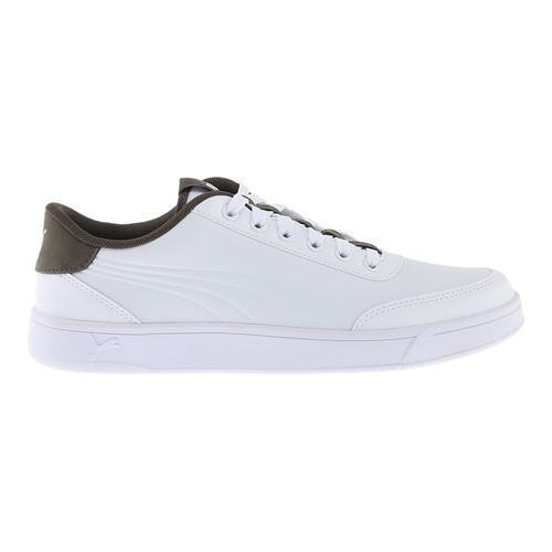 63f0a8fbff17 ... Thumbnail Men  x27 s PUMA Court Breaker L Court Shoe PUMA White Olive  ...