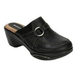 Women's Rialto Verve Clog Black Burnished Smooth Polyurethane