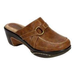 Women's Rialto Verve Clog Tobacco Burnished Smooth Polyurethane
