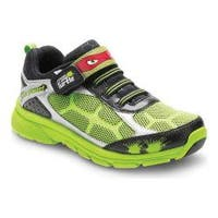 Boys' Stride Rite TMNT Radical Reptiles Sneaker Green Leather/Mesh