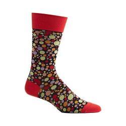 Men's Ozone Dipped Dots Novelty Socks Red