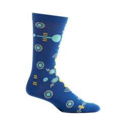 Men's Ozone Radionic Frequency Crew Socks (2 Pairs) Blue