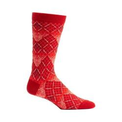 Men's Ozone Solar Argyle Socks (2 Pairs) Red