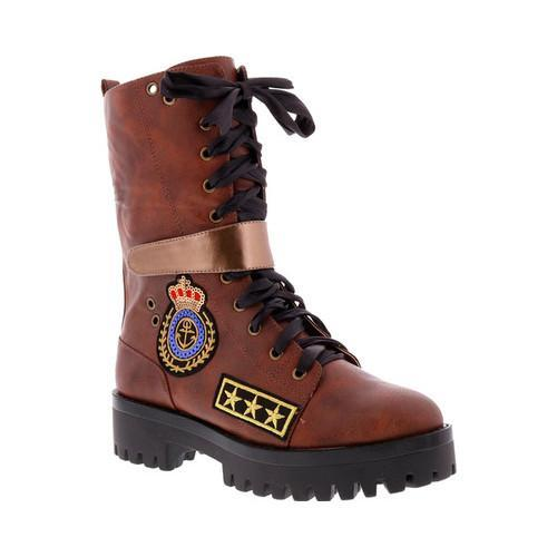 Shop Penny Kenny Nomad Folded Loves Brown Combat Women's Boot wavpqwO
