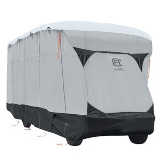 Classic Accessories OverDrive SkyShield Deluxe Tyvek® RV Class C Cover, Fits 23' - 26' RVs