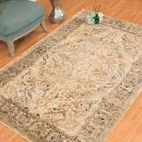 Westfield Home Cairo Abril Taupe Distressed Accent Rug - 1'10 x 3'
