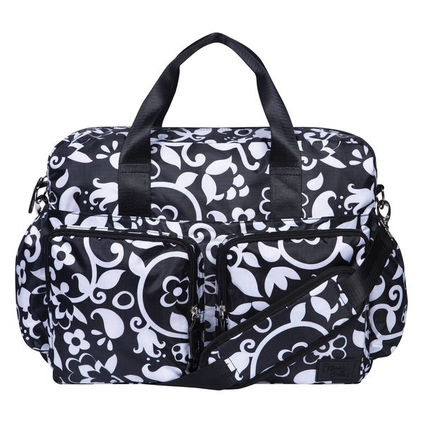 French Bull by Trend Lab Vine Deluxe Duffle Diaper Bag. Opens flyout.