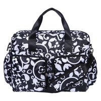 French Bull by Trend Lab  Vine Deluxe Duffle Diaper Bag
