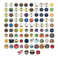 Van Houtte, Emeril's, Green Mountain, Starbucks, Barista Primahouse & Other Branded Coffees K-Cup for Keurig Brewers, 95 Count