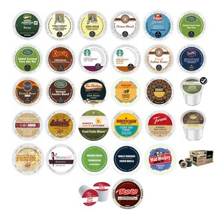 Chocolate Flavored, Variety Pack of Assorted Coffees and Beverages, K-Cup and RealCup Portion Pack for Keurig Brewers, 39 Count