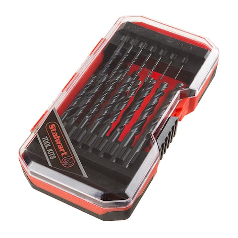 Drill Bit Set, Black Oxide Finish and High-Speed Steel Build 21 Piece Kit with Storage Case by Stalwart