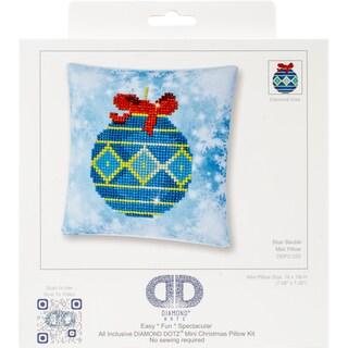"Diamond Dotz Diamond Embroidery Pillow Facet Art Kit 8""X8"""