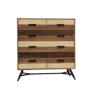 Mid Centry Wood Medley Chest
