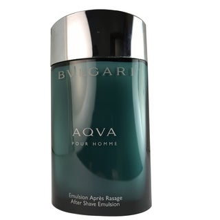 Bvlgari Aqva Men's 3.4-ounce After Shave Emulsion