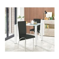 Dante Dining Table small, glass / high-gloss
