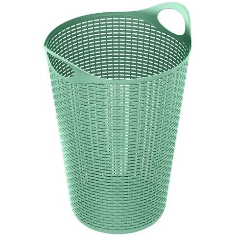 70 Liter Flex Wicker Laundry Hamper,2pk, Teal