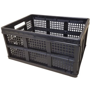Collapsible Folding Crate - 2 Pack