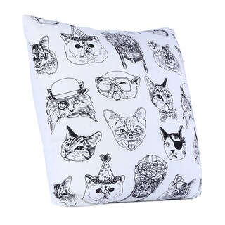 Brooklyn Industries - Cattitude Organic Cotton Throw Pillow