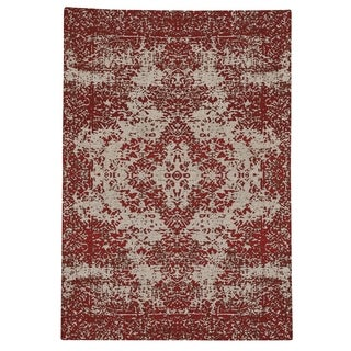 Capel Rugs Celestial Kirman Cardinal Rectangle Flat Woven Rug (8u0027 X ...