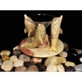 Dolphin Soapstone Aromatherapy Oil Burner (Pack of 2)