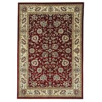Capel Rugs Anatolia-Keshan Ruby Rectangle Machine Woven Rug (5' x 3')