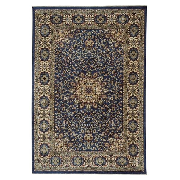 Teal Woven Rag Rug: Shop Anatolia-Medallion Teal Rectangle Machine Woven Rug