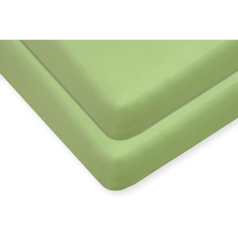 Cifelli Home 400 TC 100% Organic Cotton Fitted Crib Sheets 2 Pack
