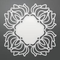 "Ultimate Crafts Bohemian Bouquet Die 3.5""X3.5"""