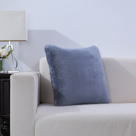 Extra-Fluffy Square Throw Pillow