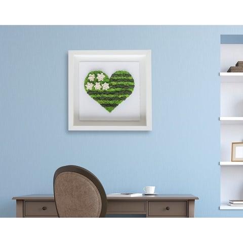 Oliver Gal' Flag Heart Moss' Live Art