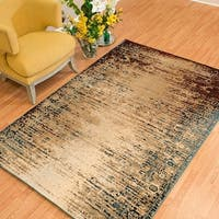 Westfield Home Cairo Keely Distressed Wine Runner Rug - 1'10 x 7'2