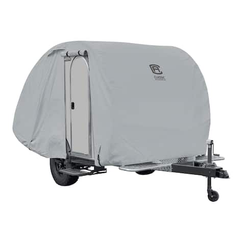 Classic Accessories 80-136-161001-00 Overdrive PermaPro Heavy Duty RV Cover 22' to 24' Travel Trailer