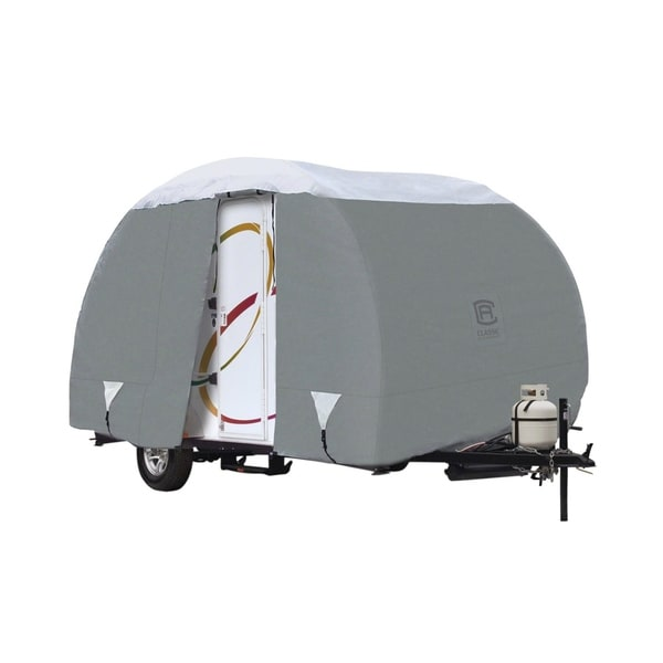 """Classic Accessories 80-199-151001-00 PolyPro 3 Rpod Travel Trailer RV Cover, fits Rpod trailers up to 18' 8"""" L"""