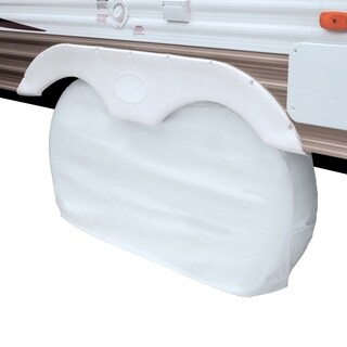 Classic Accessories 80-110-042801-00 Overdrive RV Dual Axle Wheel Covers