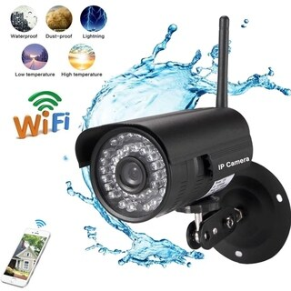 720P HD Outdoor Wireless Network Monitor Wifi IP Security Camera