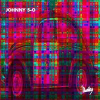 """Epic Graffiti """"Johnny 5-0"""" by Monfils, Giclee Canvas Wall Art"""