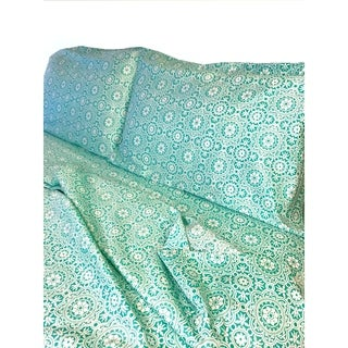 Decorative Voyagers Byzantine Collection Sea Foam Sheet Set (5 options available)